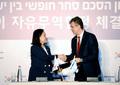 대한민국, 이스라엘과 FTA 타결