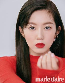 [N화보] 레드벨벳 아이린, 강렬 레드립+과즙미...무결점 미모
