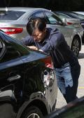 차량 미는 조국 법무장관