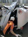인천 서구 루원지하차도서 다마스-레인지로버 추돌 '1명 부상'