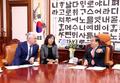 문희상 국회의장, 카자흐 외교부 장관 접견