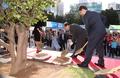 부산 유라시아 플랫폼 개관식 기념식수 시삽