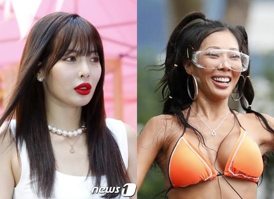 제시 '하의실종'·현아 '엉덩이 노출', 같은날 논란→해명(종합)