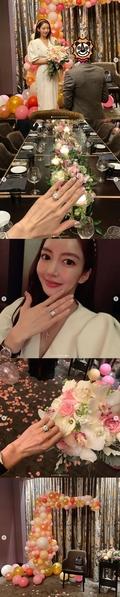 '연인' 이필립·박현선, 프러포즈…초호화 다이아 반지