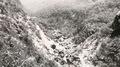 히말라야 안나푸르나에 내린 폭설