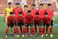 경기 전 함께 모인 U-23 대표팀
