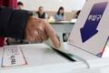 투표하는 군위군 주민들 '대구통합공항 이전지, 오늘 결정'