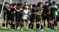 U-23 축구대표팀 '즐거운 분위기'