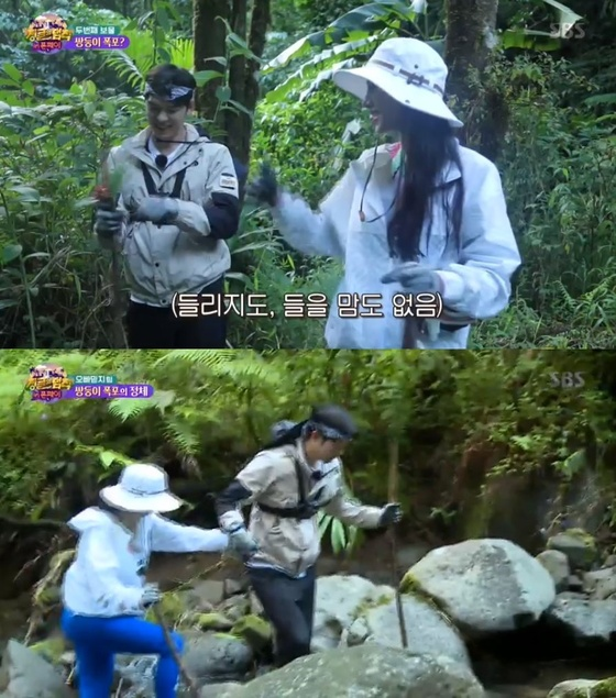 """'정글의 법칙' 조현·오스틴 강, '꽁냥꽁냥' 핑크빛 케미 """"의지 돼"""""""