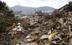 [사진]日히로시마 산사태 현장