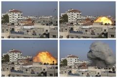 지하드 간부 집 맞힌 이스라엘 미사일