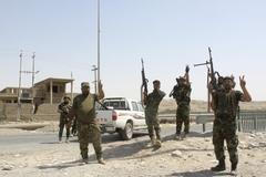 IS반군 포위망 뚫은 이라크군