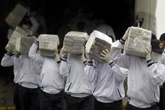 페루, 사상 최대 코카인 압수