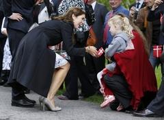 어린이에 인기 높은 덴마크 왕세자비