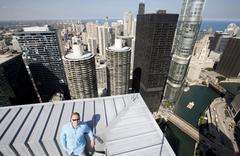 고층건물 줄타기 명인의 끝없는 도전
