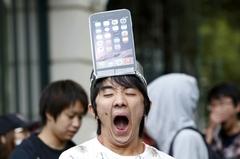 아이폰6 출시…매장앞 장사진