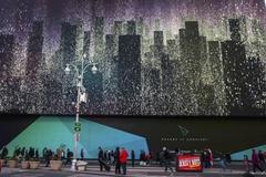 타임스스퀘어의 25억짜리 광고전광판