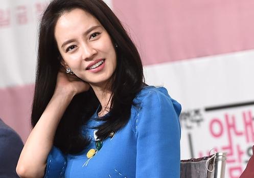 """송지효 """"남자 연예인과 안 사귄다는 원칙 갖고 있어"""""""