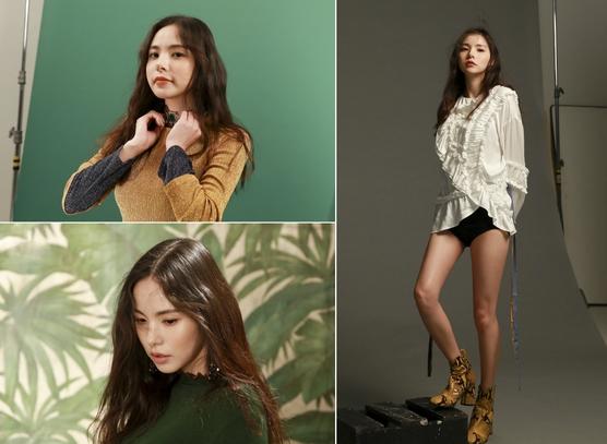민효린, 화보 비하인드컷 공개…'마네킹 몸매' 감탄