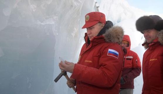 푸틴, 북극도 탐내나