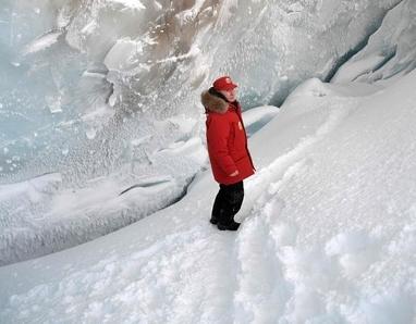 북극을 둘러보는 푸틴…무슨 생각을 할까