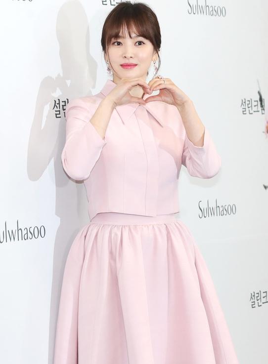 송혜교, '송중기와 결혼 후 첫 공식 외출'