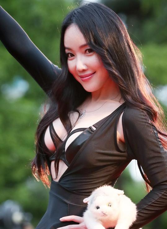 낸시랭, 부천영화제 최강 섹시레이디 등극