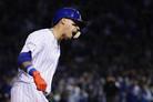 '바에즈 멀티홈런' 시카고 컵스, 다저스에 3연패 후 첫 승(종합)