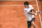 테니스 정현, 발목 이상…바르셀로나 오픈 출전 미정