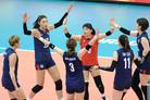 한국 여자 배구, 폴란드 꺾고 7연승…2그룹 1위 확정