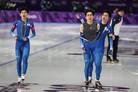 [올림픽] '원 팀' 男 팀추월, 2회 연속 메달 사냥 나선다