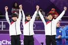 [올림픽] 남자 팀추월 2회 연속 은메달…女 컬링, 4강서 한일전(종합)