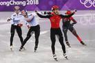 [올림픽] 황대헌, 男쇼트트랙 500m 은메달…임효준은 동메달(종합)