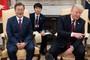 """트럼프 """"文대통령 한국 대통령인게 행운"""" 발언에 폭소"""