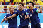 """[월드컵] 일본 언론 """"콜롬비아전, 역사적 승리"""" 환호…1차전 승=16강행 기대도"""
