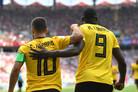 [월드컵] ]루카쿠-아자르 멀티골' 벨기에, 튀니지 5-2 대파