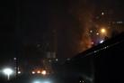불길에 막혀 도로 우회… 벤투호, '시위격화 양상' 베이루트 입성