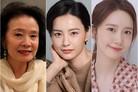 윤정희·정유미·임윤아, 제20회 올해의 여성영화인상 수상