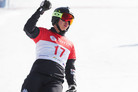 '배추보이' 이상호, 평창 스노보드 월드컵에서 동메달