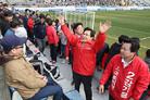 프로축구연맹, '경기장 유세 징계' 경남FC 재심 청구 기각