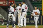 두산, LG에 위닝 시리즈…SK·키움 스윕-KT는 6위 도약(종합)