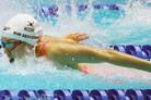 [광주세계수영] 김서영, 개인혼영 200m 결승 진출…쑨양 자유형 400m 4연패(종합)