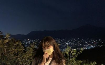 [N샷] '이경규 딸' 이예림, 마스크도 못 가리는 청순 미모