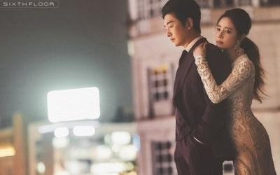 """[N샷] 최송현, 역대급 미모 웨딩화보 공개 """"교제 첫날 백년해로 꿈꿔"""""""