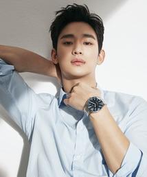 [N화보] 김수현, 강렬한 눈빛…봄 알리는 심쿵 비주얼