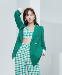 [N화보] 김아중, 크롭티 스타일 변신…여름 몰고 온 여신