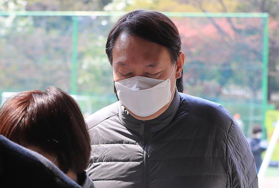 2개월여 만에 모습 드러낸 윤석열 검찰총장...표심은?