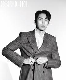 [N화보] 임슬옹, 우월한 비율로 완성한 시크 남성미