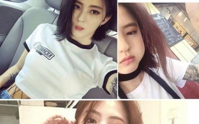 '타투·담배' 한소희 과거 사진 재조명…과거 샤이니와 MV도 화제 (종합)