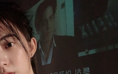 [N샷] 김가빈, 빅뱅 탑과 열애설 이후 첫근황 '청순美'